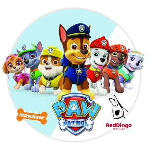 New Arrival: Red Dingo Paw Patrol ID Tags!