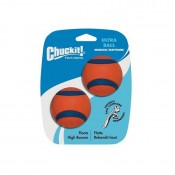 Ultra Balls 2 Pack - Medium by Chuckit!