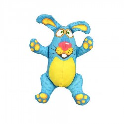 Rabbit Woodland Crackler Dog Toy in 2 Colours by Fat Cat!