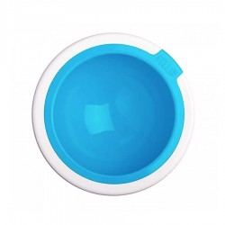 Kaleido Supreme Dog Bowl in Aqua by FelliPet!