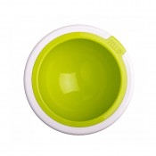 Kaleido Supreme Dog Bowl in Lime by FelliPet!
