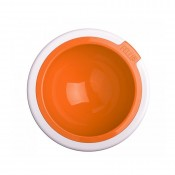 Kaleido Supreme Dog Bowl in Tangerine by FelliPet!