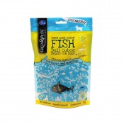 Fish Deli Cubes Dog Treats 75g by Green & Wilds