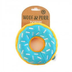 Blueberry Donut Dog Toy by The Happy Pet Company!