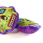 Sugar Skull Dog Toy by The Happy Pet Company!