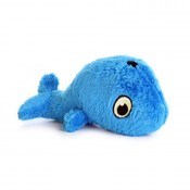 Whale Ultrasonic Squeaker Dog Toy by Hear Doggy!