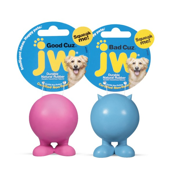 Good & Bad Cuz Balls by JW Pet!