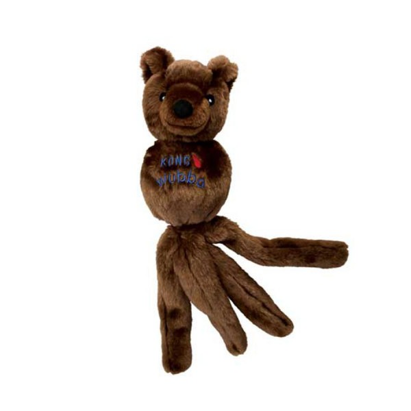 Wubba Friends - Bear Dog Toy in Two Sizes by Kong!