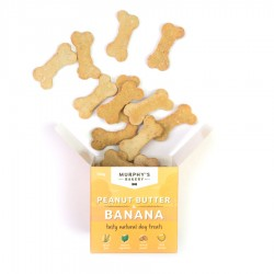 Peanut Butter & Banana Dog Biscuits by Murphy's Bakery!