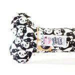 'Bamboo' Double-Squeak Fabric Bone by Ollie & Penny!