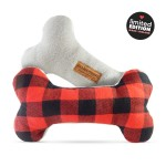 'Parker' Double-Squeak Fabric Bone by Ollie & Penny!