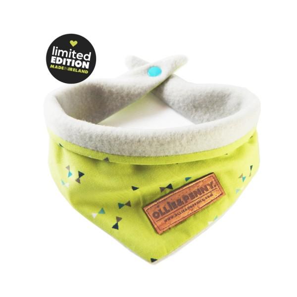 'Pea Soup' bandana by Ollie & Penny