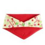 'Candy Cane Lane' Festive Christmas bandana by Ollie & Penny