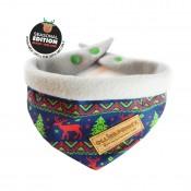 ''Tis The Season' Festive Christmas bandana by Ollie & Penny