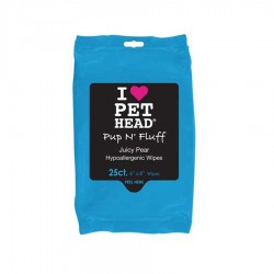 Pup'N'Fluff Hypoallergenic Wipes 25Pk by Pet Head