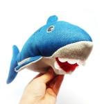 Shark Plushie Dog Toy by Posh Paws NYC!