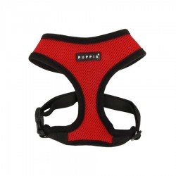 Soft Mesh Harness in Red by Puppia
