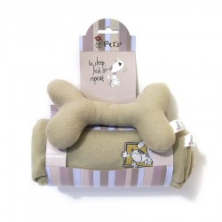 Born To Shop Dog Blanket & Bone Toy Set by Rosewood Pet!