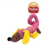 'Patch' the Sausage Dog Chubleez Dog Toy by Rosewood Pet!