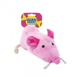 'Sugar Mouse' Sweetie Vinyl Dog Toy by Rosewood Pet!