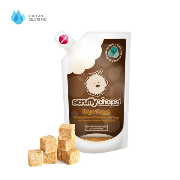 Sugar Doggy - Sweet Caramel natural shampoo for Dogs by Scruffy Chops!