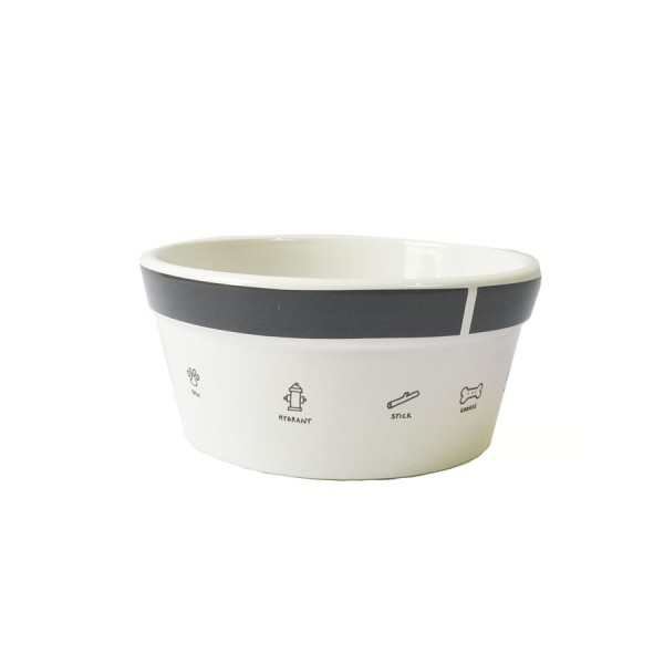 'My Stuff' Ceramic Dog Bowl by Signature Housewares!