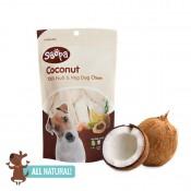 Coconut Dog Chews 100g by Soopa