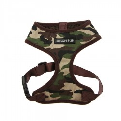 Camouflage Pattern Harness by Urban Pup