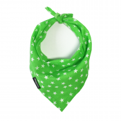 Green Star Handmade Bandana by Wagytail!