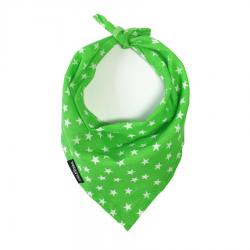 Green Star Handmade Bandana by Wagytail!