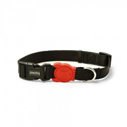 Black Root Dog Collar by Zee.Dog!