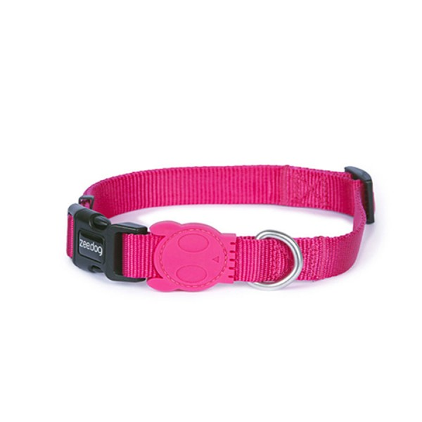Pink-A-Boo Dog Collar by Zee.Dog!