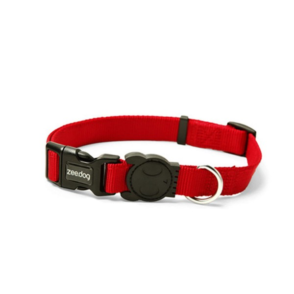 Red Monster Dog Collar by Zee.Dog!