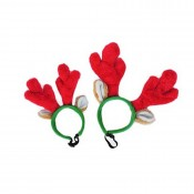 Festive 'Reindeer Antler' Headband for Dogs by Zippypaws!