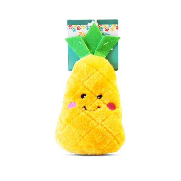 NomNomz Pineapple Dog Toy by ZippyPaws!