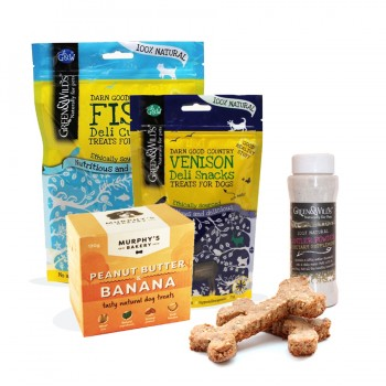 Dog Food, Treats & Nibbles