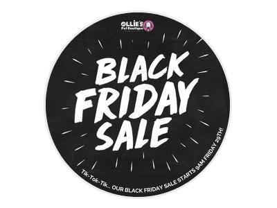 Black Friday Sale! Tik-Tok! Don't Delay!
