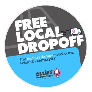 New Service: Free Local Drop-Off Service!