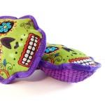 Sugar Skull Dog Toy